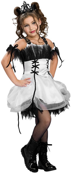 Child Gothic Dancer Costume
