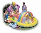 Dolphin Inflatable Activity Pool