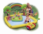 Rainbow Garden Inflatable Activity Pool
