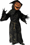 Adult Scary Bobble Head Pumpkin Costume