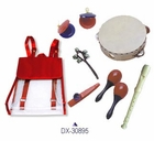 Children's Musical Instruments in a Backpack