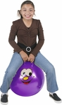 "Hippity Hop 20"" Purple Smiley Face Hop Ball"
