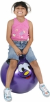 "Hippity Hop 24"" Purple Smiley Face Hop Ball"