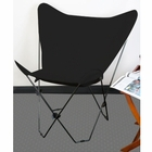 Black Butterfly Chair Cover