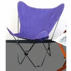 Purple Butterfly Chair Cover