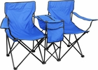 Two Seat  Folding Camping Chair W/ Ice Chest