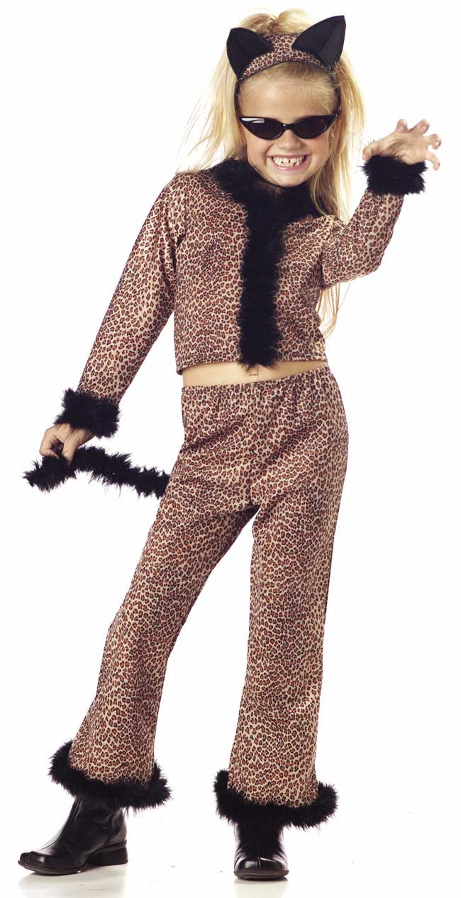 Child's Leopard Suit Costume