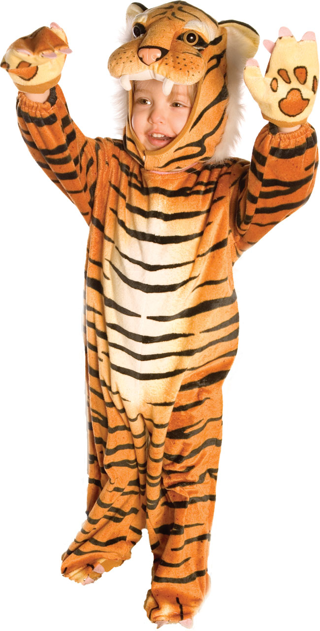 Deluxe Toddler Tiger Costume
