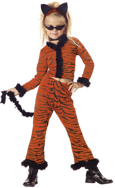 Child's Tiger Suit Costume