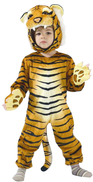 Deluxe Child's Tiger Costume