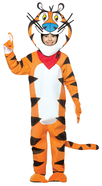 Child's Tony the Tiger Costume