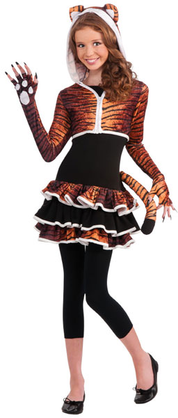 Tween Tiger Costume