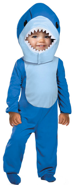 Toddler Blue Shark Costume