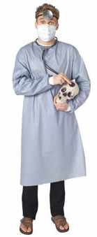 Adult Easy Doctor Costume Kit