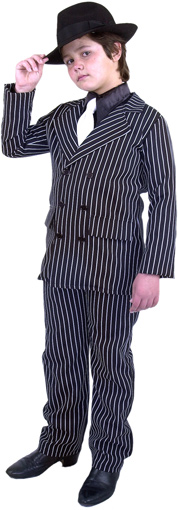 Child's Double Breasted Gangster Suit Costume