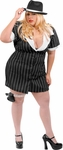 Plus Size Sexy Mobster Costume