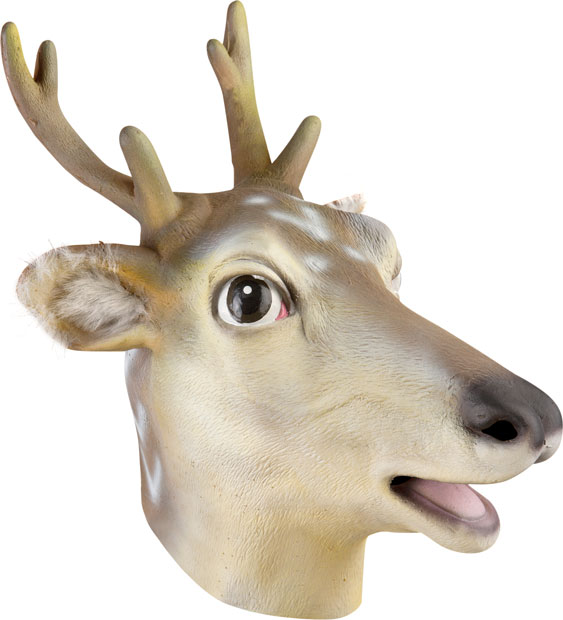 Deer Head Costume Mask