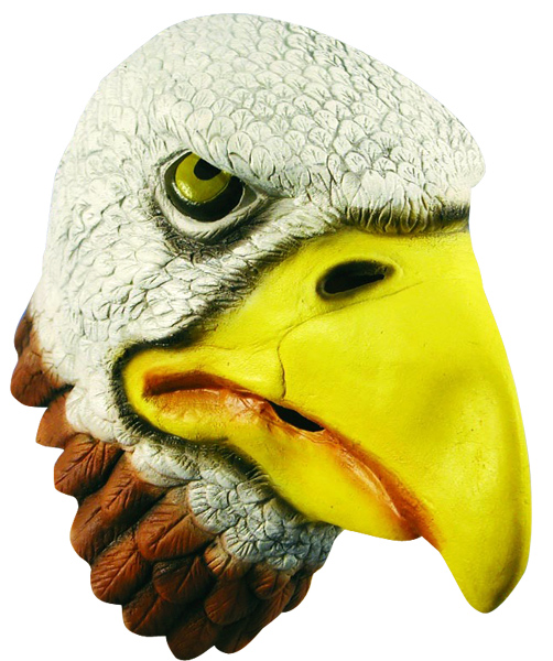 Bald Eagle Latex Mask