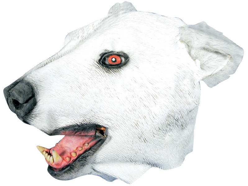 Polar Bear Costume Mask