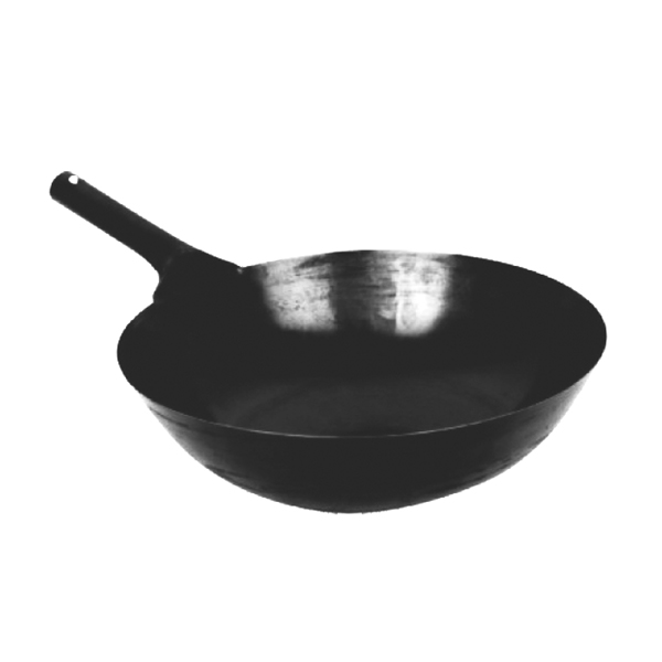 "14"" Taiwanese Cast Iron Commercial Wok"