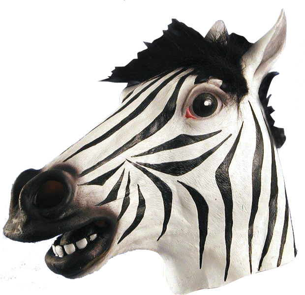 Zebra Costume Mask