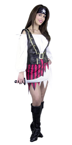 Fashion Pirate Lady Costume