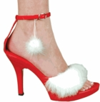 Sexy Santa Helper Costume Shoes