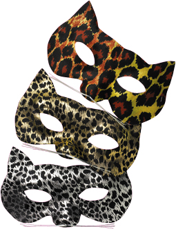 Exotic Cat Eye Mask