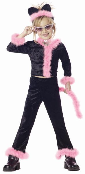 Child's Pink Pretty Kitty Cat Costume