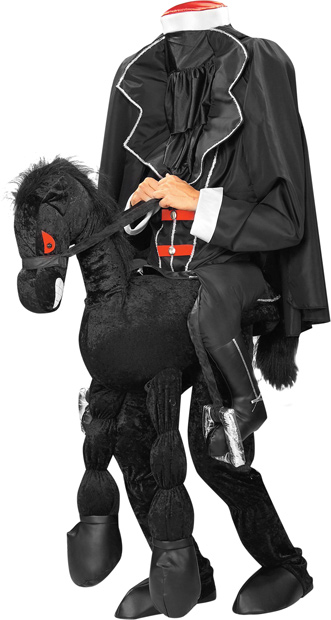 Headless Horseman Costume w/ Horse