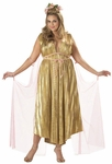 Plus Size Aphrodite Goddess Costume