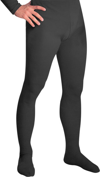 Black Men's Tights
