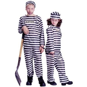 Child's Prisoner Costume
