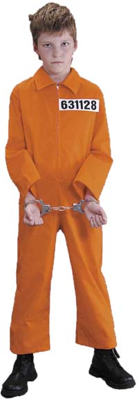 Child's Convict Costume