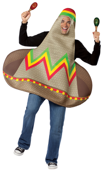Adult Mexican Hat Dance Costume