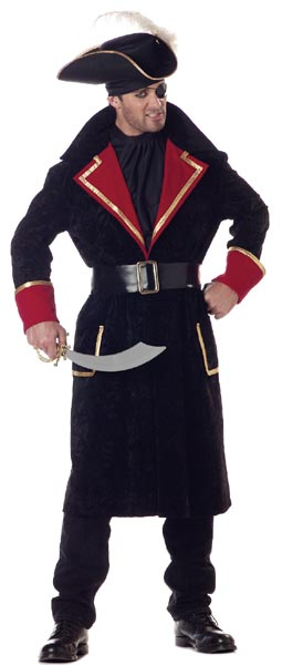 Adult Captain Scurvy Pirate Costume