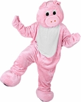 Adorable Pig Mascot Costume