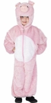 Plush Child's Pig Costume