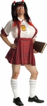 Men's School Girl Costume