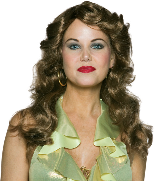 Women's Brown Dancing Queen Wig