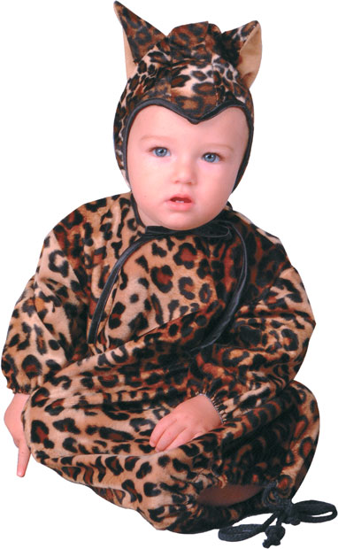 Baby Leopard Bunting Costume