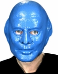 Blue Man Group Vinyl Mask