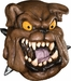 Bulldog Costume Mask
