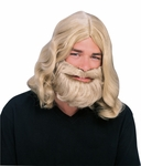 Blonde Thor Wig and Beard Set