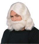 White Jesus Wig and Beard set
