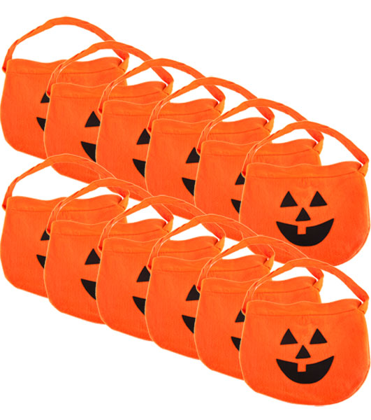 Pumpkin Halloween Candy Bag