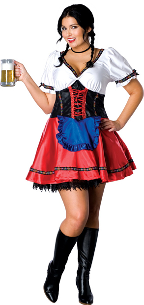 Plus Size St. Pauli Girl Costume