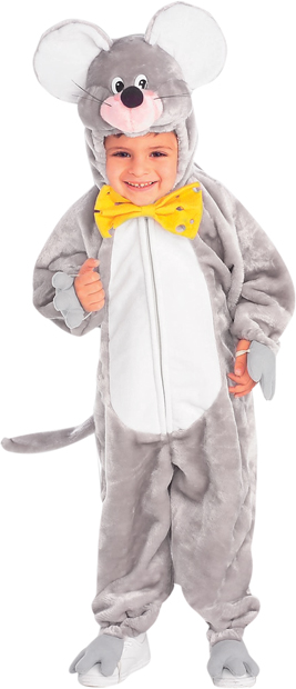 Toddler Plush Mouse Costume