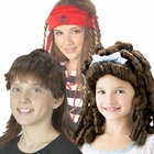 Child's Brown Wigs