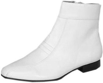 Men's White Disco Shoes